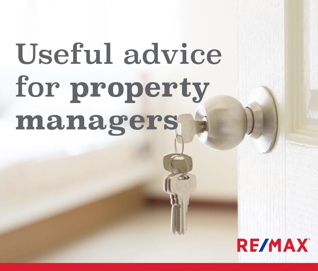 Useful advice for Property Managers